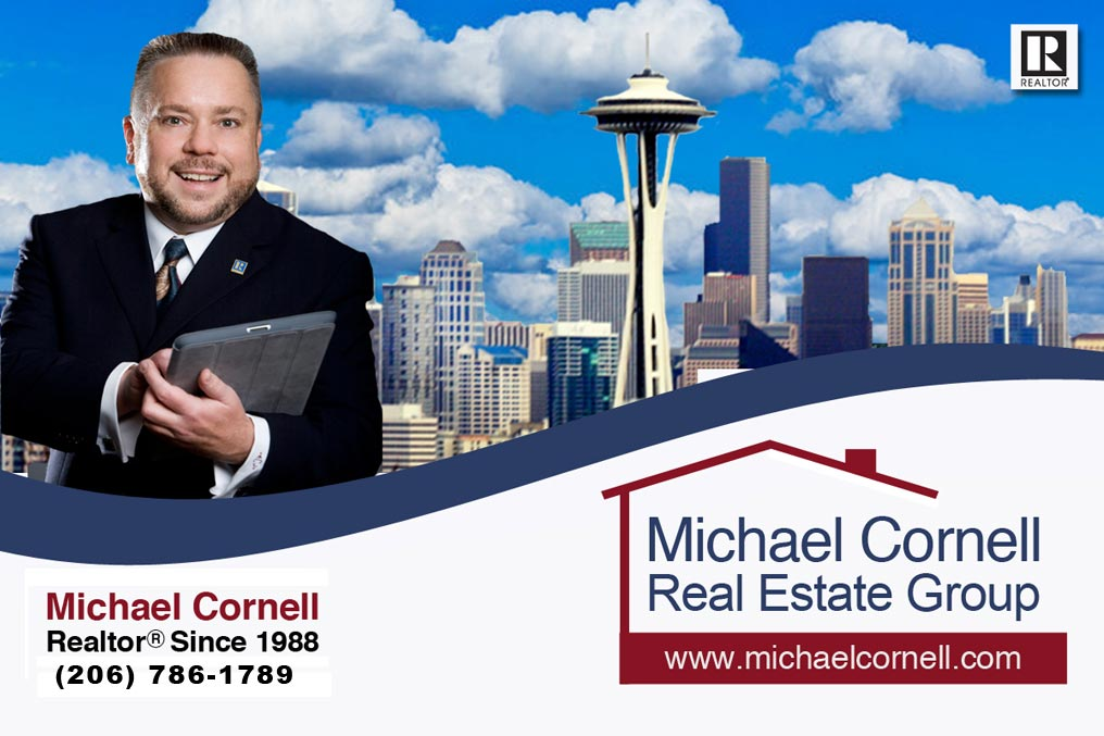 Michael Cornell, REALTOR, Since 1998 - (206) 789-